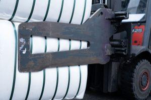 Strauss Fasern Ballenklammer speziell Faserhandel Stapelfasern